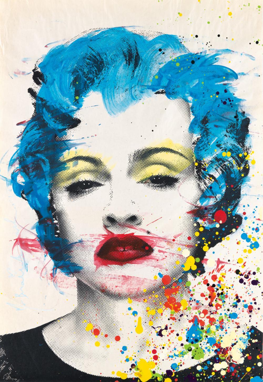 MR. BRAINWASH Madonna.