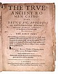 ABBOT, ROBERT. The True Ancient Roman Catholike . . . The First Part.  1611