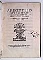 ARISTOTLE.  Philosophiae moralis ad Nicomachum.  1567 [i. e., 1547]