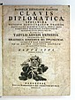 BARING, DANIEL EBERHARD; et al. Clavis diplomatica. 1754