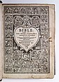 BIBLE IN ENGLISH.  The Bible. Translated according to the Ebrew and Greeke.  1608