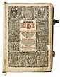 BIBLE IN GERMAN.  Catholische Bibell; das ist, Alle Bücher der H. Schrifft.  1564