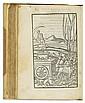 BOCCACCIO, GIOVANNI.  L'Amorosa Fiammetta.  1542 + PETRARCA, FRANCESCO.  Il Petrarcha.  1543