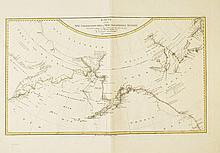 (ALASKA--BERING STRAIT.) Schraembl. Karte von Alaska, Bering-Str. * Jäck. Charte von der Nord-Westlichen Küste von America.
