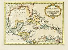 BELLIN, JACQUES NICOLAS. Carte du Golphe du Méxique.