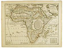 CORONELLI, VINCENZO MARIA; and NOLIN, JEAN BAPTIST. L'Afrique selon les Relations les plus Nouvelles.