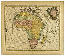 COVENS, JOHANNES; and MORTIER, CORNELIS. L'Afrique Dressee sur les Observations de Mrs. de l'Academie Royale des Sciences.