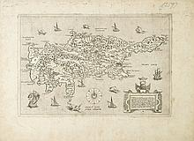 (CYPRUS.) Camocio, Giovani Francesco. Cyprus, insula nobilissima.