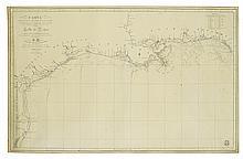 DIRECCION DE HIDROGRAFIA. Carta de las Costas. . . Golfo de Mejico.
