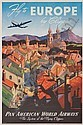 MARK VON ARENBURG FLY TO EUROPE BY CLIPPER.  Circa 1950., Mark Arenburg, Click for value