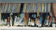 DAVID LEVINE. Coney Island Display.