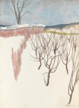 (THE NEW YORKER. GARDENING. SPRING. WINTER.)  JAMES STEVENSON. Perennials and Annuals.