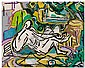 BEAUFORD DELANEY (1901 - 1979) Distant Horizons (New Dimensions)., Beauford Delaney, Click for value