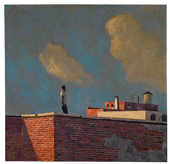 HUGHIE LEE-SMITH (1915 - 1999) Untitled (Rooftop View).