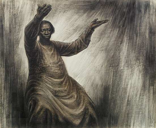 CHARLES WHITE (1918 - 1979) Move On Up a Little Higher.