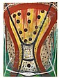 DANNY SIMMONS (1954 -   ) Untitled (Abstract Composition)., Danny Simmons, Click for value