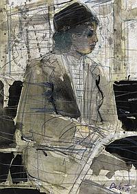 LOUIS DELSARTE (1944 - ) Rosa Parks.