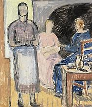 VANESSA BELL Three Women in an Interior.