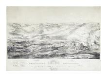 (CIVIL WAR--PRINTS.) Endicott; after Batchelder. Gettysburg Battle-Field.