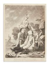 (COLONIAL WARS.) The Death of General Wolfe at Quebec.
