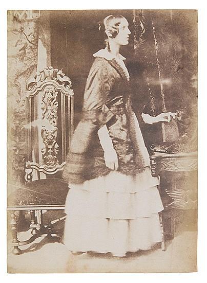 HILL, DAVID OCTAVIUS (1802-1870)/ADAMSON, ROBERT (1821-1898) Lady Georgina Ryder.