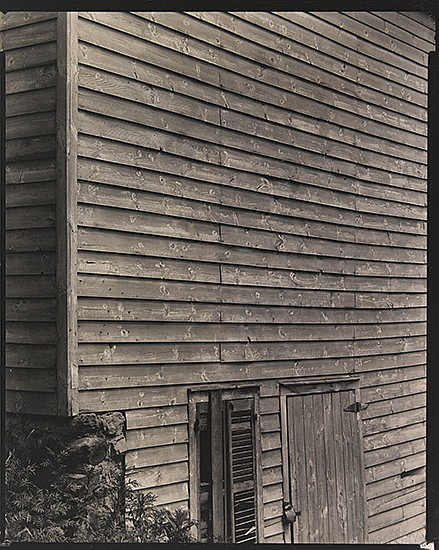 STEINER, RALPH (1899-1986) Untitled (side of old clapboard building).
