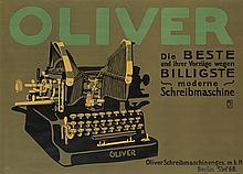 PAUL SCHEURICH (1883-1945). OLIVER. 1909. 26x36 inches, 66x91 cm. Hollerbaum & Schmidt.