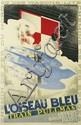 ADOLPHE MOURON CASSANDRE (1901-1968). L'OISEAU BLEU. 1929. 39x24 inches, 99x61 cm. L. Danel, Lille.
