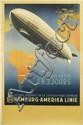 OTTOMAR ANTON (1895-1976). L'AMÉRIQUE DU SUD EN 3 JOURS / HAMBURG - AMERIKA LINIE. 1936. 39x25 inches, 100x64 cm. Muhlmeister & Johler