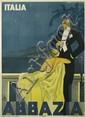 WALTER MOLINO (1915-1997). ITALIA / ABBAZIA. 1935. 39x27 inches, 99x70 cm. F.I.A.R., Milan.