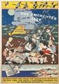 JOHN HELD, JR. (1889-1958). THE ENCHANTED ISLE / MARTHA'S VINEYARD. 1934. 41x28 inches, 105x71 cm. Plampin Litho. Co., New York.