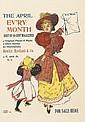 DESIGNER UNKNOWN. THE APRIL / EV'RY MONTH. Circa 1896. 17x12 inches, 44x30 cm. H.I. Ireland, Philadelphia.