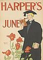 EDWARD PENFIELD (1866-1925). HARPER'S JUNE. 1895. 18x12 inches, 46x32 cm.