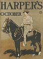 EDWARD PENFIELD (1866-1925). HARPER'S OCTOBER. 1898. 17x11 inches, 43x30 cm.