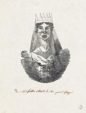 EUGÈNE DELACROIX (ATTRIBUTED TO) 2 lithographs.