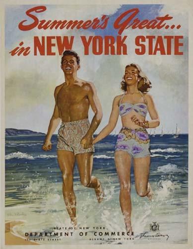 STAN KLIMLEY SUMMER'S GREAT IN NEW YORK STATE.