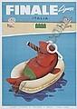 MARIO PUPPO FINALE LIGURE. 1954., Mario Puppo, Click for value