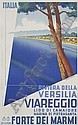 MARIO PUPPO RIVIERA DELLA VERSILIA VIAREGGIO. 1934., Mario Puppo, Click for value