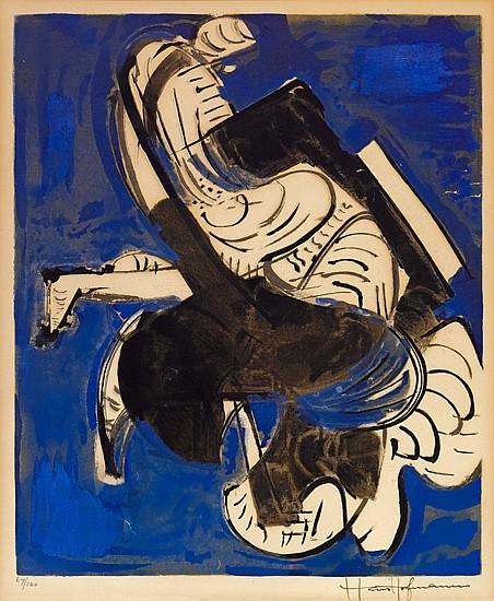 HANS HOFMANN Composition in Blue.