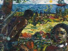 LOUIS DELSARTE (1944 - ) Middle Passage.