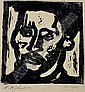 WILLIAM H. JOHNSON (1901 -1970) Self-Portrait., William Henry Johnson, Click for value