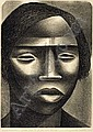 ELIZABETH CATLETT (1915 -  ) Negro Woman., Elizabeth Catlett, Click for value