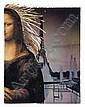 DAVID HAMMONS (1943 -   ) Untitled (Mona Lisa).