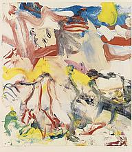 WILLEM DE KOONING Figures in Landscape #6.