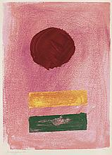 ADOLPH GOTTLIEB Pink Ground.