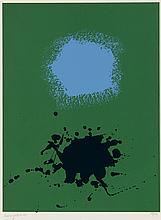 ADOLPH GOTTLIEB Blues on Green.