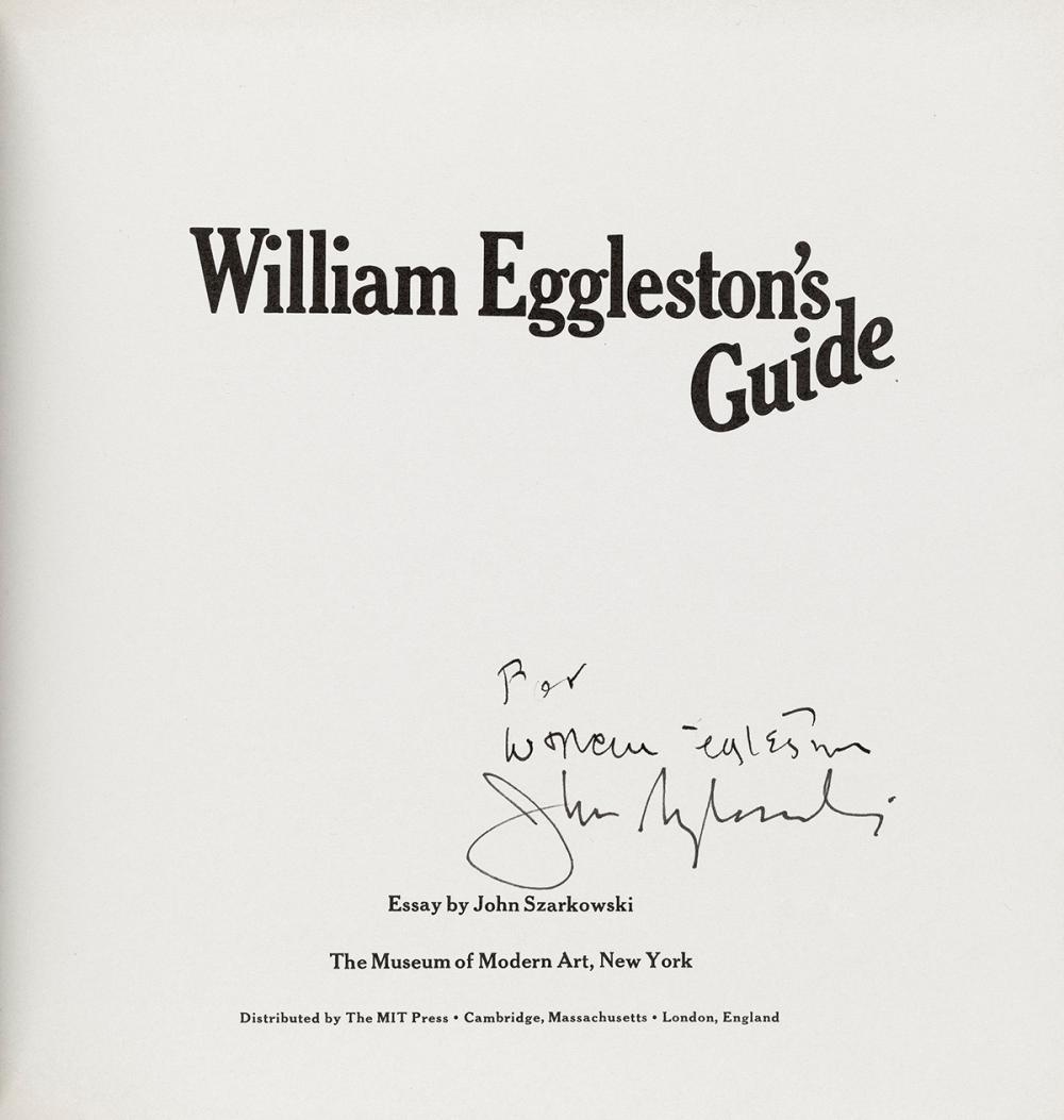 john szarkowski essay william eggleston