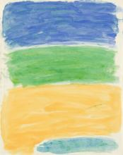 JAMES LECHAY Untitled (Color Field).
