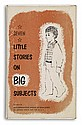MAURICE SENDAK. Bond, Gladys Baker. Seven Little Stories on Big Subjects.