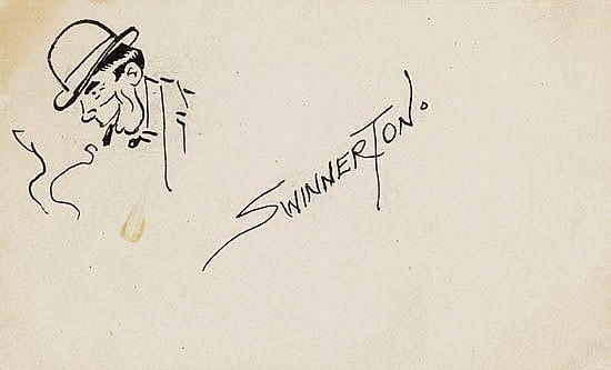 JAMES GUILFORD (JIMMY) SWINNERTON. Self-Portrait.